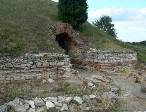 Антична куполна гробница /тракийски храм/